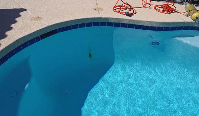 Swimming Pool Stains : Pool services rebar repair rust