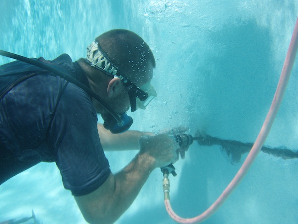 Underwater Rebar Repair Underwater Operations