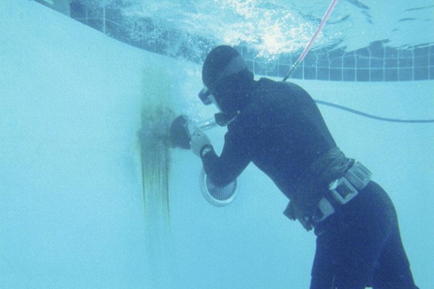 Ugliest Rebar Rust Stain Ever Underwater Operations