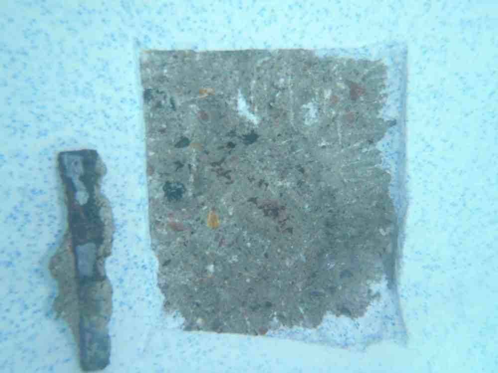 Ultra Poz Sapphire Rebar Rust Stain Repair Underwater